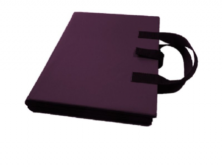 A4 Communication Book - Rigid Covers - Purple